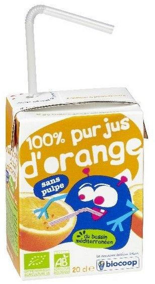 Jus d'orange tétra 20cl